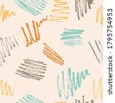 abstract seamless pattern. ...