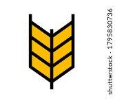 grain food icon vector   yellow ...   Shutterstock .eps vector #1795830736