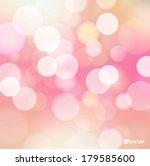 light red vector bokeh... | Shutterstock .eps vector #179585600