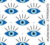 vector seamless pattern... | Shutterstock .eps vector #1795904470