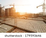 roof structure construct ion | Shutterstock . vector #179593646