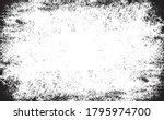 scratched frame. grunge urban... | Shutterstock .eps vector #1795974700