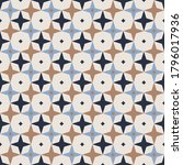 seamless pattern. rhombuses ... | Shutterstock .eps vector #1796017936
