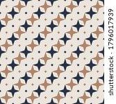 seamless pattern. rhombuses ... | Shutterstock .eps vector #1796017939