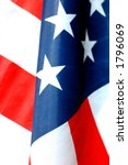 close up of american flag in... | Shutterstock . vector #1796069