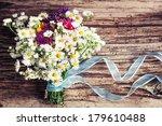 Romantic Flower Background Wit...
