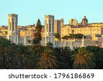View Of The City Cagliari On...