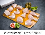 Raw Chicken Tender Curry Cut...