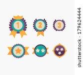levels winner | Shutterstock .eps vector #179624444