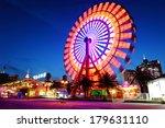 ferris wheel at night | Shutterstock . vector #179631110