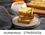 Pumpkin Pie Bars Layered With...