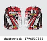 sport jersey abstract...   Shutterstock .eps vector #1796537536