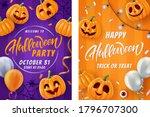 Halloween Lettering Background  ...