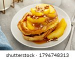 Caramel Apple French Toasts...