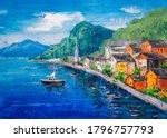 Oil Painting   Hallstatt ...