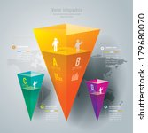 abstract 3d digital... | Shutterstock .eps vector #179680070