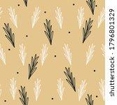 seamless vintage vector pattern.... | Shutterstock .eps vector #1796801329