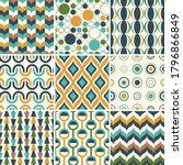 abstract retro geometric  ...   Shutterstock .eps vector #1796866849