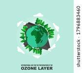 vector illustration of planet...   Shutterstock .eps vector #1796883460