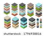 soil layers cross section set... | Shutterstock .eps vector #1796938816