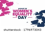 women's equality day in united... | Shutterstock .eps vector #1796973043