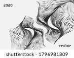 abstract twisted  distorted...   Shutterstock .eps vector #1796981809