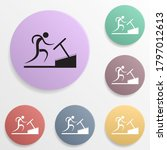 man on the treadmill badge...