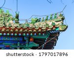 Richly Decorated Roofs Of...