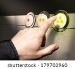 three buttons from one to 3... | Shutterstock . vector #179702960