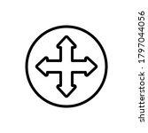 arrow four direction icon....