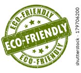 eco friendly stamp   Shutterstock .eps vector #179706200