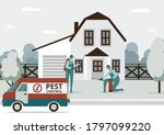 pest control services staff...   Shutterstock .eps vector #1797099220