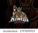 the king mascot sport logo... | Shutterstock .eps vector #1797099919