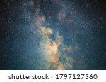 Milky Way Galaxy Stars Space...