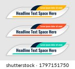 three colors lower third... | Shutterstock .eps vector #1797151750
