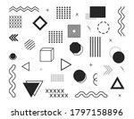 design element. geometric... | Shutterstock .eps vector #1797158896