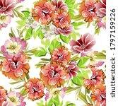 flower print. elegance seamless ... | Shutterstock . vector #1797159226