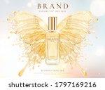 skincare cosmetic bottle over... | Shutterstock .eps vector #1797169216
