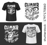 mountain goat tshirt print or... | Shutterstock .eps vector #1797170860