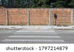 Surrounding Brick Wall  A...