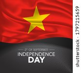 vietnam happy independence day... | Shutterstock .eps vector #1797215659