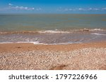 sunny seaside. beautiful beach... | Shutterstock . vector #1797226966