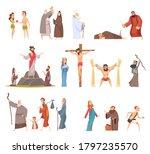 bible characters. historical...   Shutterstock .eps vector #1797235570