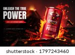 Energy Drink Advertisement With ...