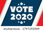 2020 united states of america... | Shutterstock .eps vector #1797293509