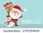 merry christmas and happy new... | Shutterstock .eps vector #1797294439