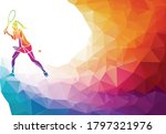 creative silhouette of female... | Shutterstock .eps vector #1797321976