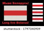 set of red white flag of the... | Shutterstock .eps vector #1797340909
