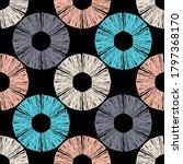 polka dots seamless pattern.... | Shutterstock .eps vector #1797368170