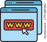 website icon vector...